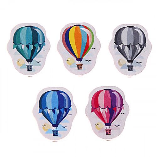 Motivperle Heißluftballon