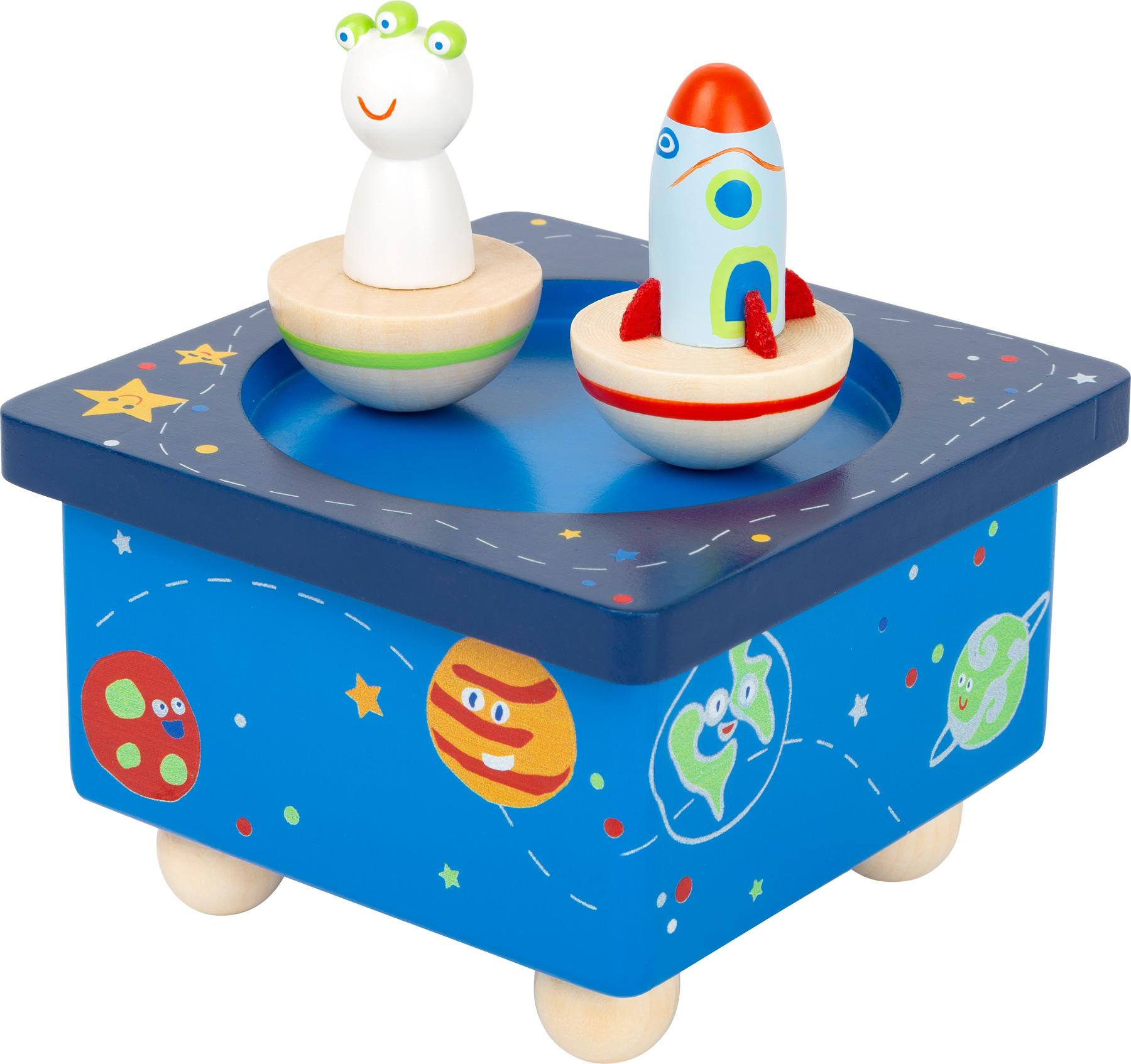 Spieluhr Space