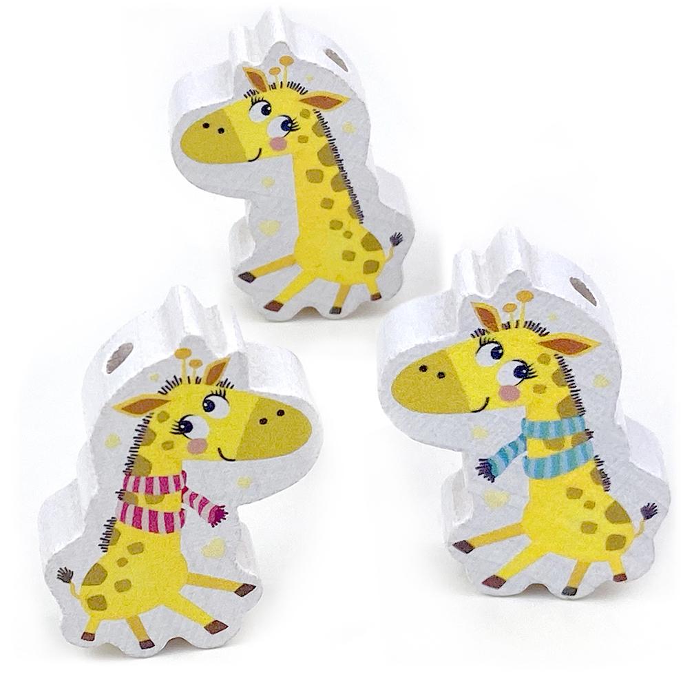 Motivperle Giraffe