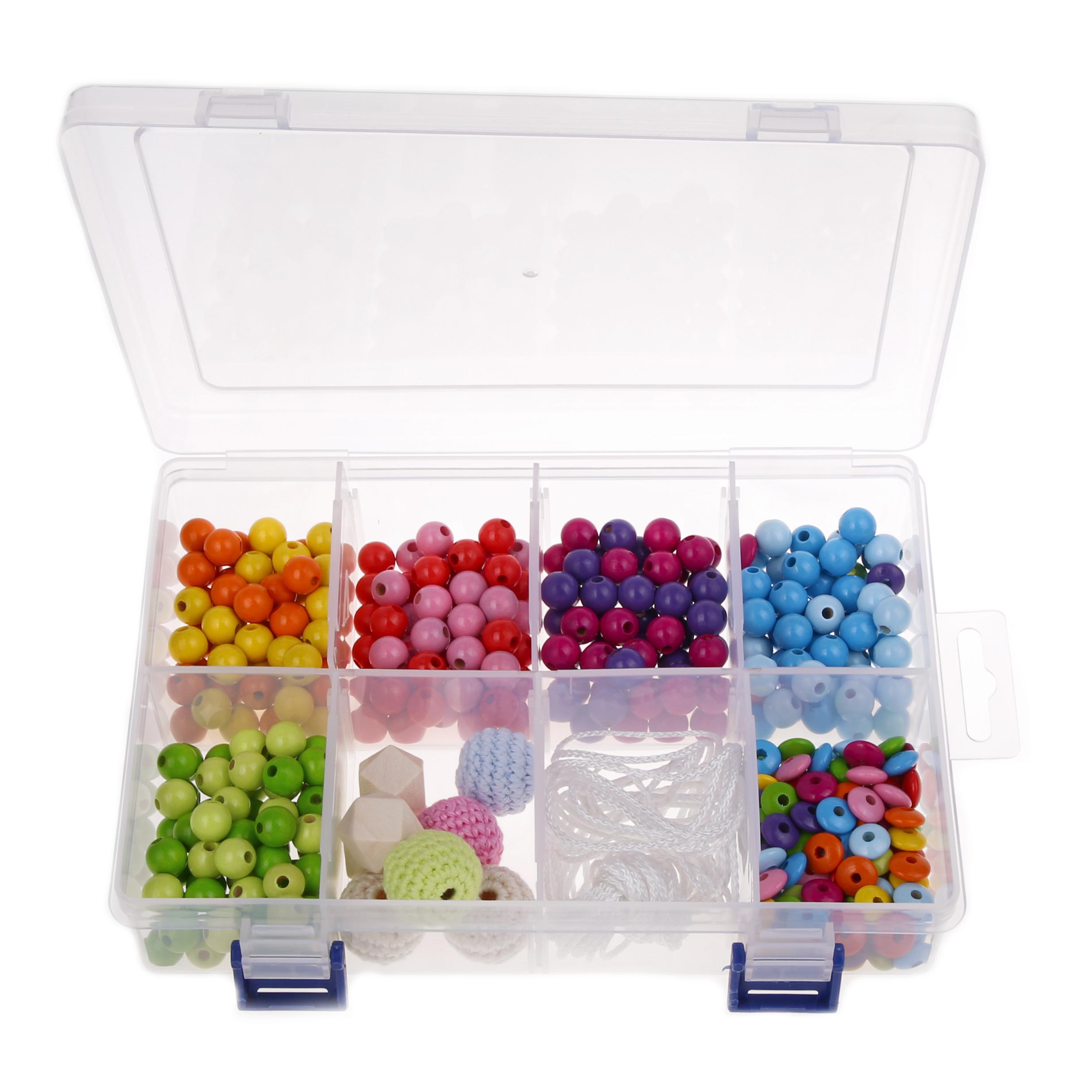 Perlenbox Regenbogen