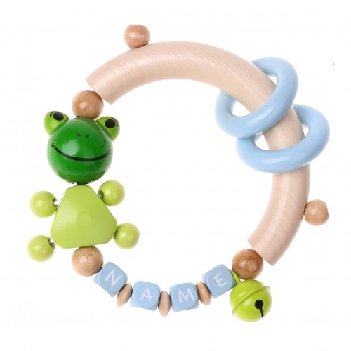 Bastelset Greifling Frosch (BLAU)
