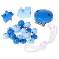 Bastelset Schnullerkette Blau II