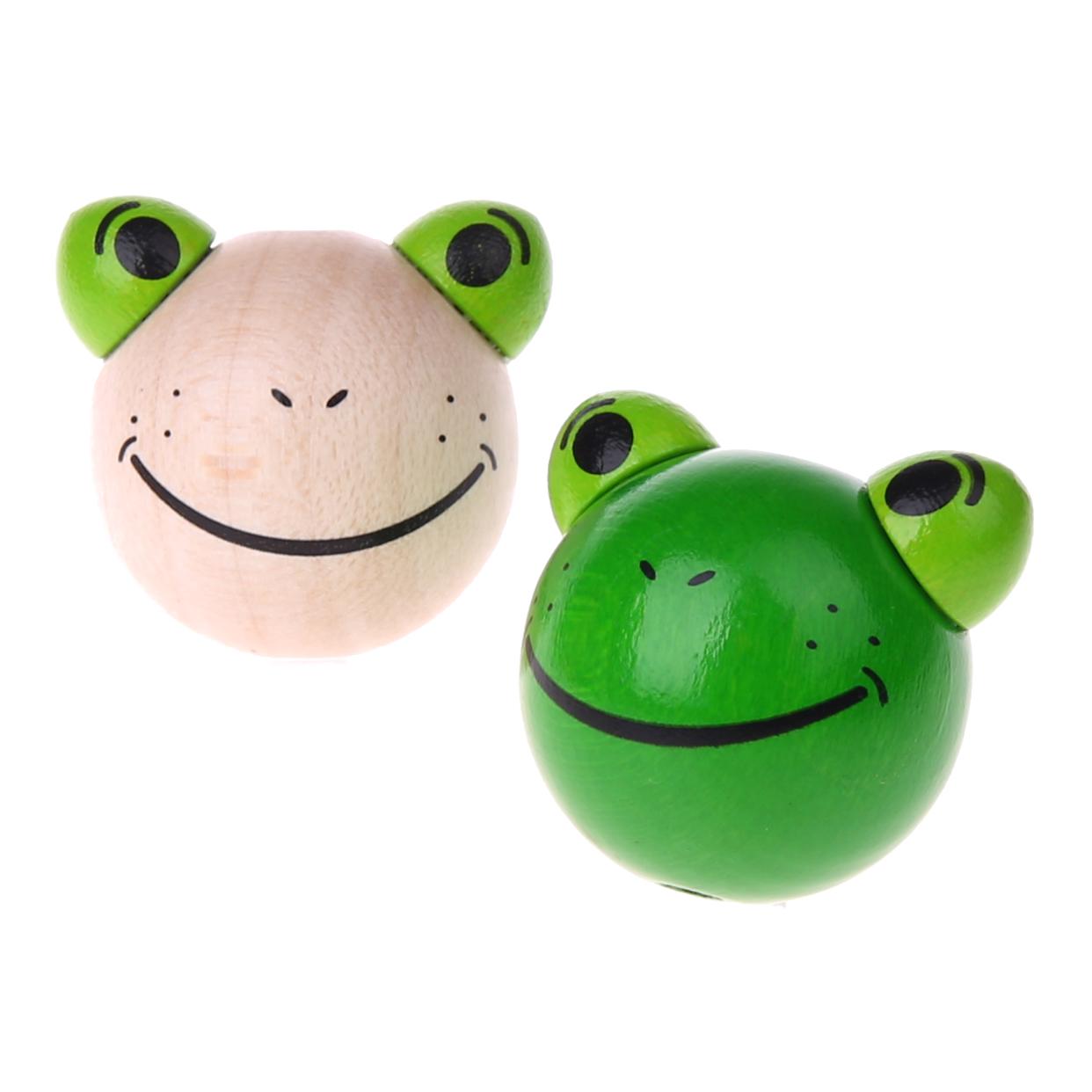 Motivperle 3D Frosch