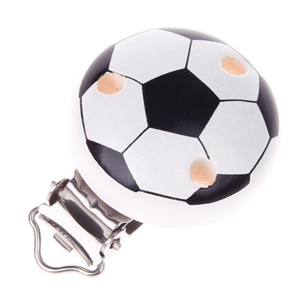 Schnullerclip Fussball