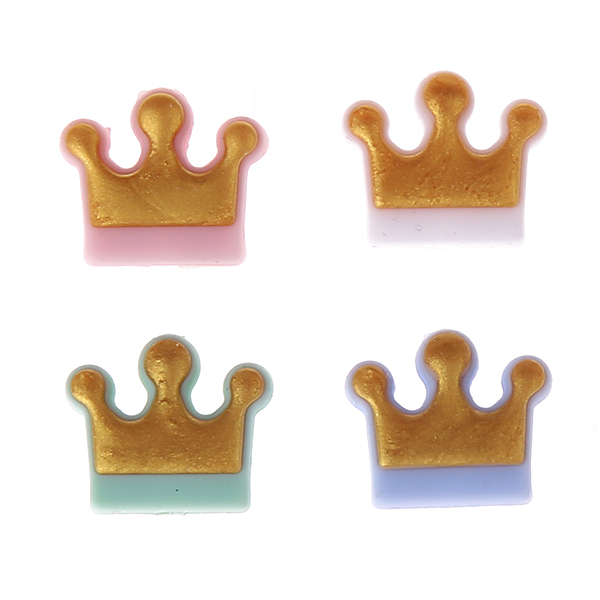 Silikonmotiv Krone Gold