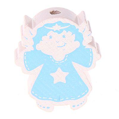 Motivperle Engel 'weiß-babyblau' 716 auf Lager