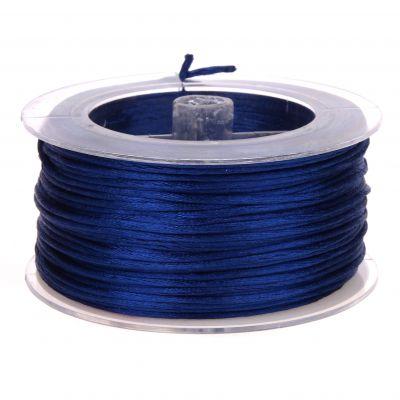 Satinband Ø 1,5 mm • 50 Meter 'dunkelblau' 0 auf Lager