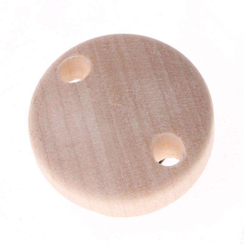 Schnullerclip mini / Holzclip Ø30mm 'roh' 3868 auf Lager