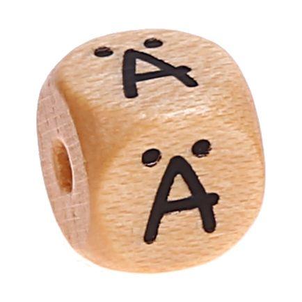 Buchstabenwürfel Holz geprägt 10 mm 'Ä' 1016 auf Lager