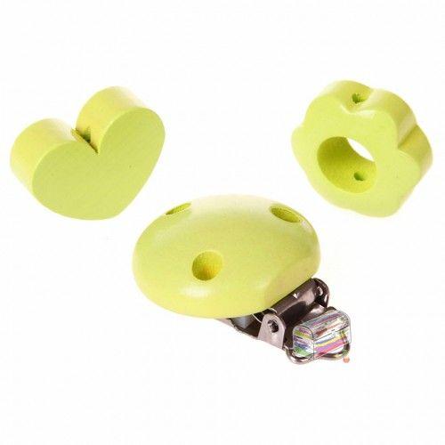 Schnullerketten Bastelset Mini 'lemon' 0 auf Lager