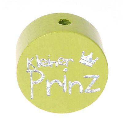 Motivperle Scheibe kleiner Prinz Glitzer 'lemon' 172 auf Lager