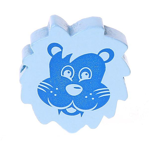 Motivperle Löwe 'babyblau-blau' 907 auf Lager