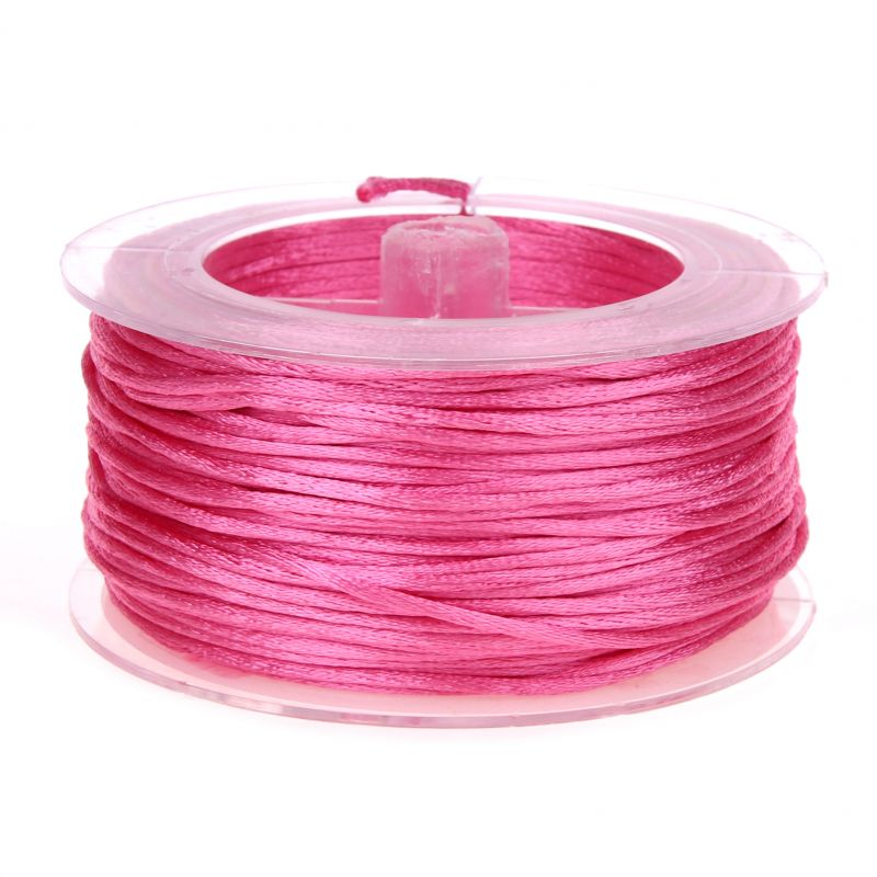 Satinband Ø 1,5 mm • 50 Meter 'pink' 3 auf Lager