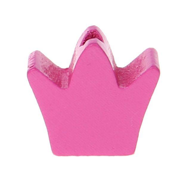 Motivperle Frästeil Krone 'pink' 640 auf Lager