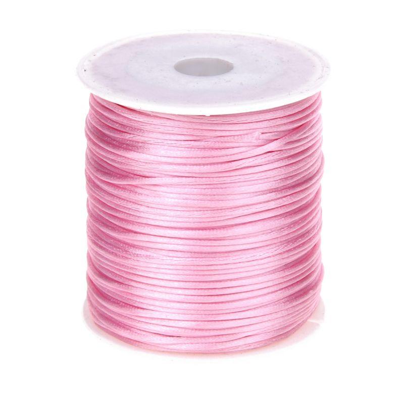 Satinband Ø 1mm  •  1 Meter 'rosa' 335 auf Lager