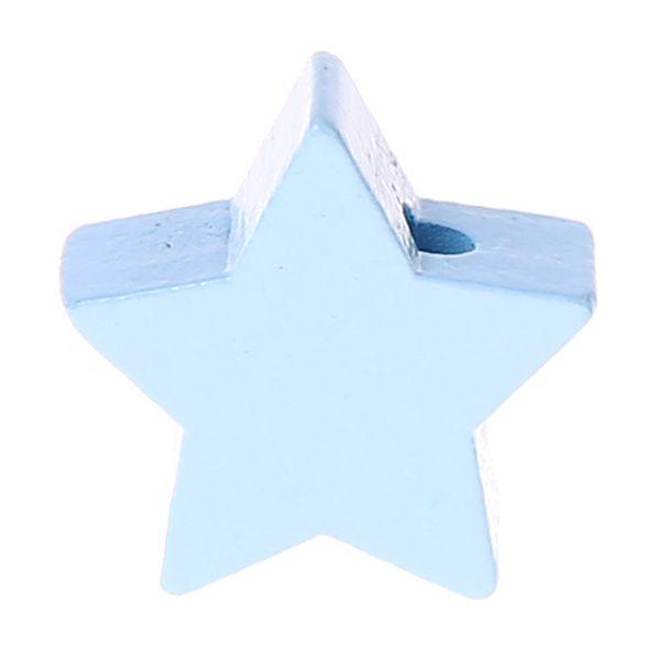 Motivperle Stern mini 'babyblau' 1952 auf Lager