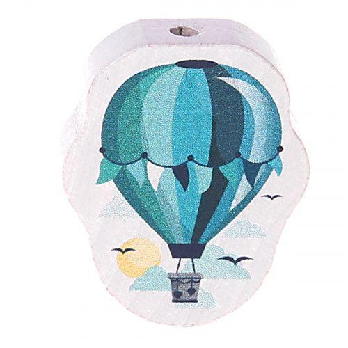 Motivperle Heißluftballon 'türkis' 0 auf Lager