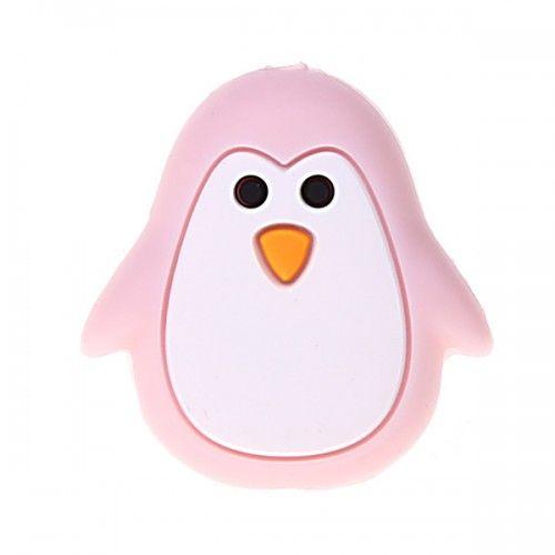Silikonmotiv Pinguin 'rosa' 84 auf Lager