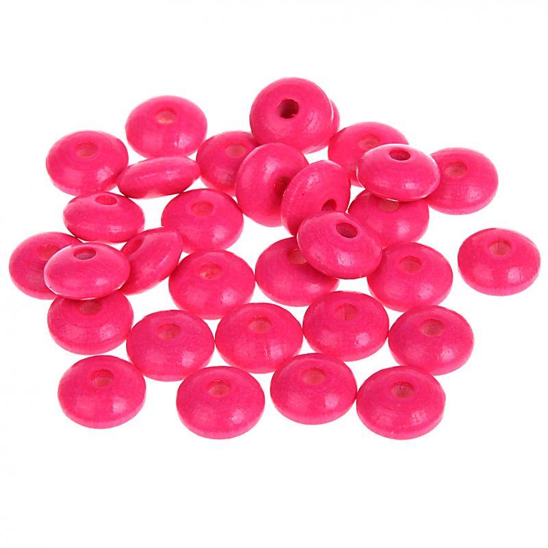 Neonlinsen 10mm • 50 Stück 'neon-pink' 21 auf Lager