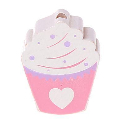 Motivperle Cupcake 'rosa' 529 auf Lager
