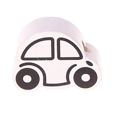Motivperle Auto Mini 'weiß' 723 auf Lager