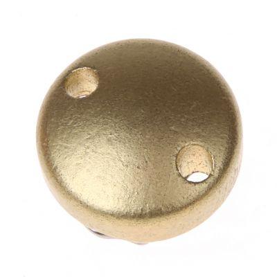Schnullerclip mini / Holzclip Ø30mm 'gold' 760 auf Lager