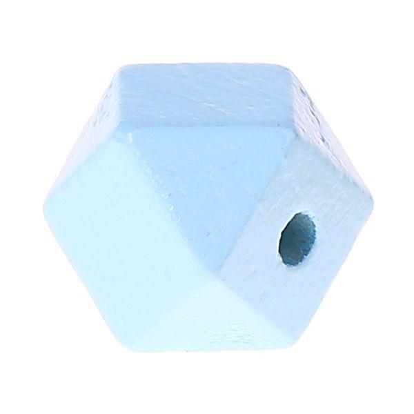 Hexagonperlen 16mm 'babyblau' 1094 auf Lager
