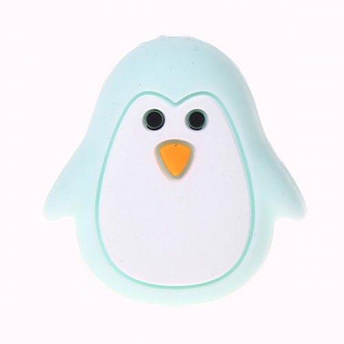 Silikonmotiv Pinguin 'mint' 42 auf Lager