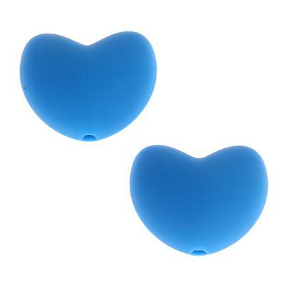Silikonmotiv Herz 'skyblau' 0 auf Lager
