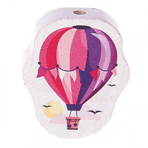 Motivperle Heißluftballon 'pink' 0 auf Lager