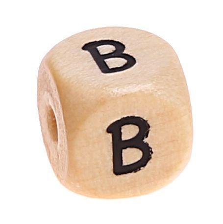 Buchstabenwürfel Holz geprägt 10 mm 'B' 876 auf Lager