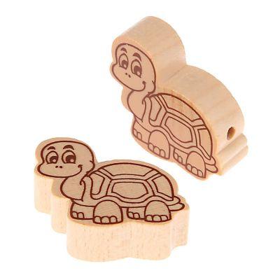 Motivperle Schildkröte • 10 Stück 'natur' 207 auf Lager