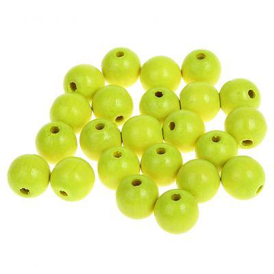 Neonperlen 10mm • 50 Stück 'neon-gelb' 0 auf Lager