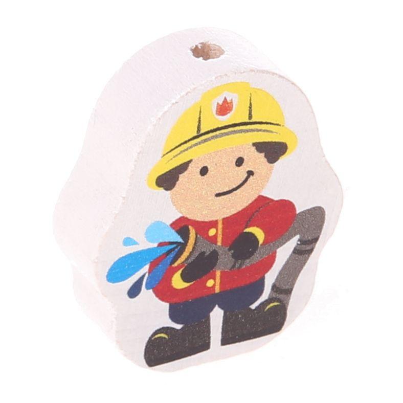 Motivperle Feuerwehrmann 'rot' 164 auf Lager