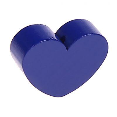 Motivperle Formperle Herz Groß 'dunkelblau' 486 auf Lager