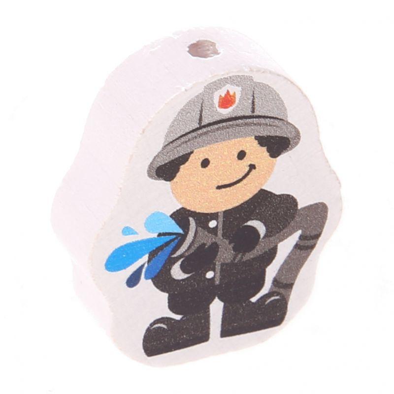 Motivperle Feuerwehrmann 'grau' 27 auf Lager