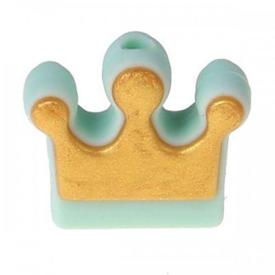 Silikonmotiv Krone Gold 'mint' 71 auf Lager