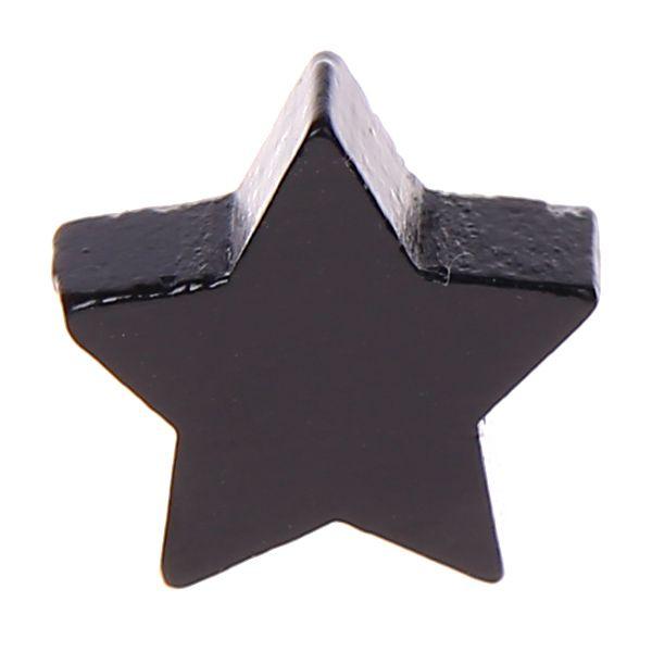 Motivperle Stern mini 'schwarz' 1319 auf Lager