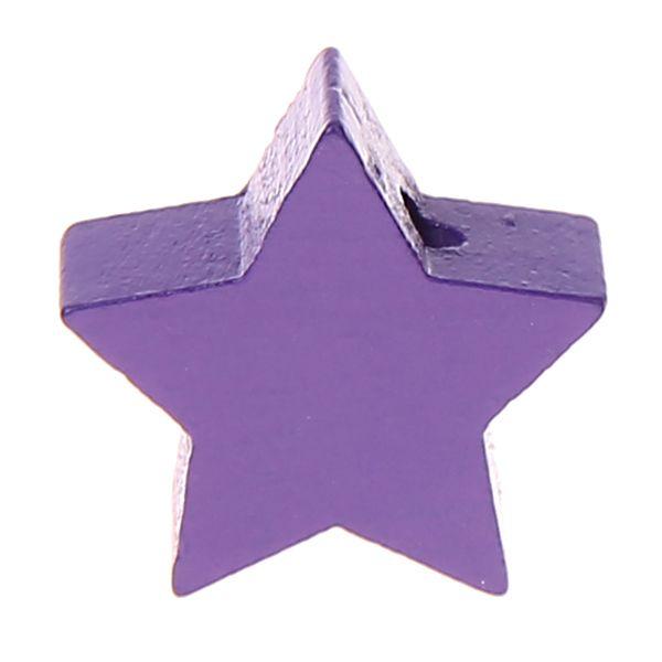 Motivperle Stern mini 'lila' 1186 auf Lager