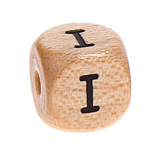 Buchstabenwürfel Holz geprägt 10 mm 'I' 4149 auf Lager