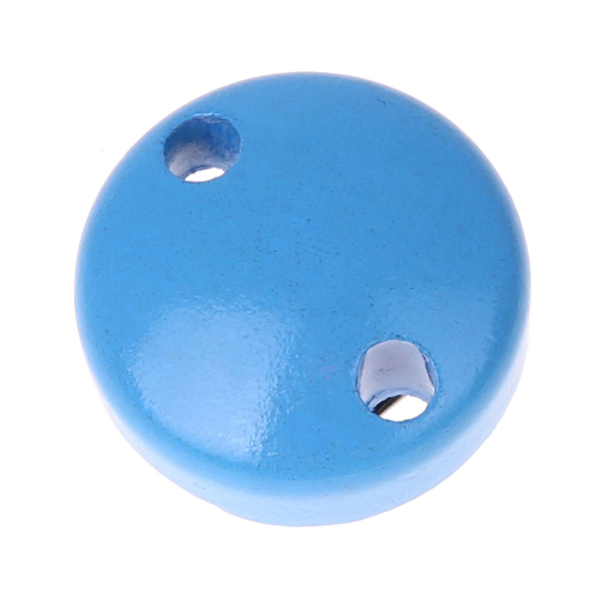 Schnullerclip mini / Holzclip Ø30mm 'skyblau' 425 auf Lager