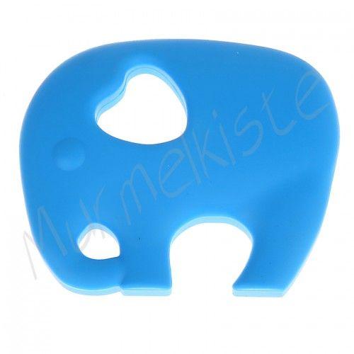 Beißring Elefant 'skyblau' 0 auf Lager