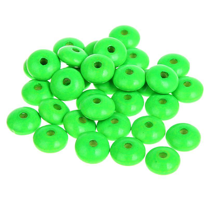 Neonlinsen 10mm • 50 Stück 'neon-grün' 84 auf Lager