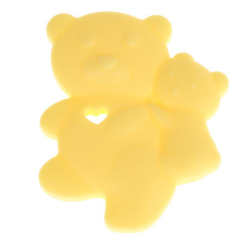 Beißring Bärchen 'gelb' 0 auf Lager