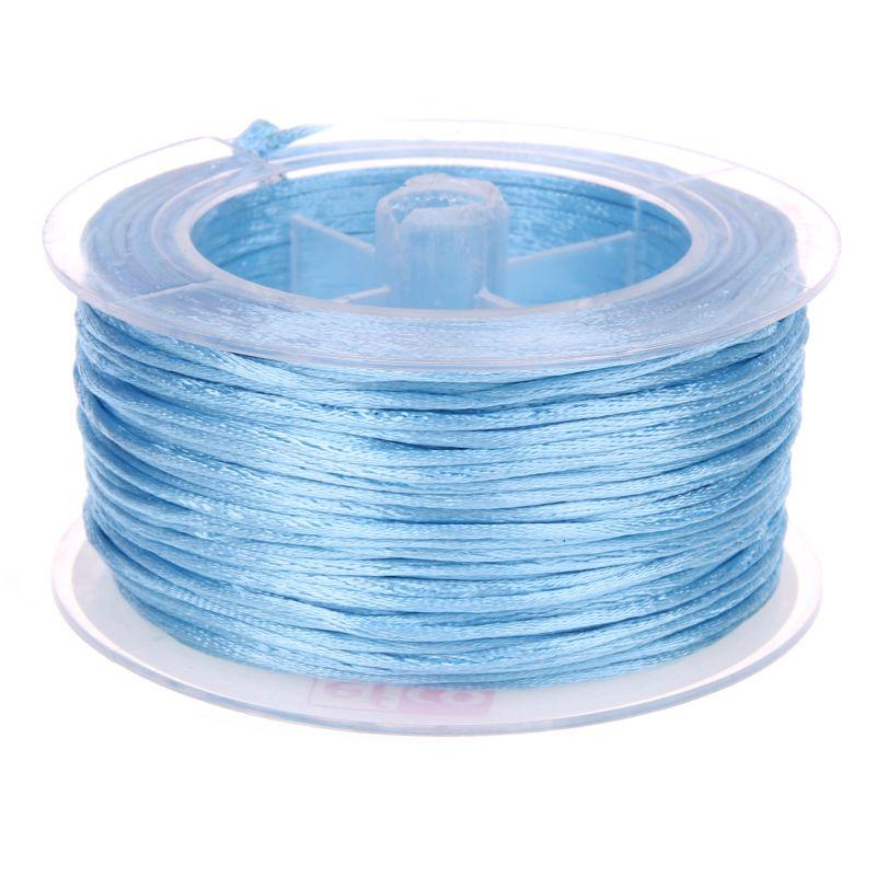 Satinband Ø 1,5 mm • 50 Meter 'hellblau' 2 auf Lager