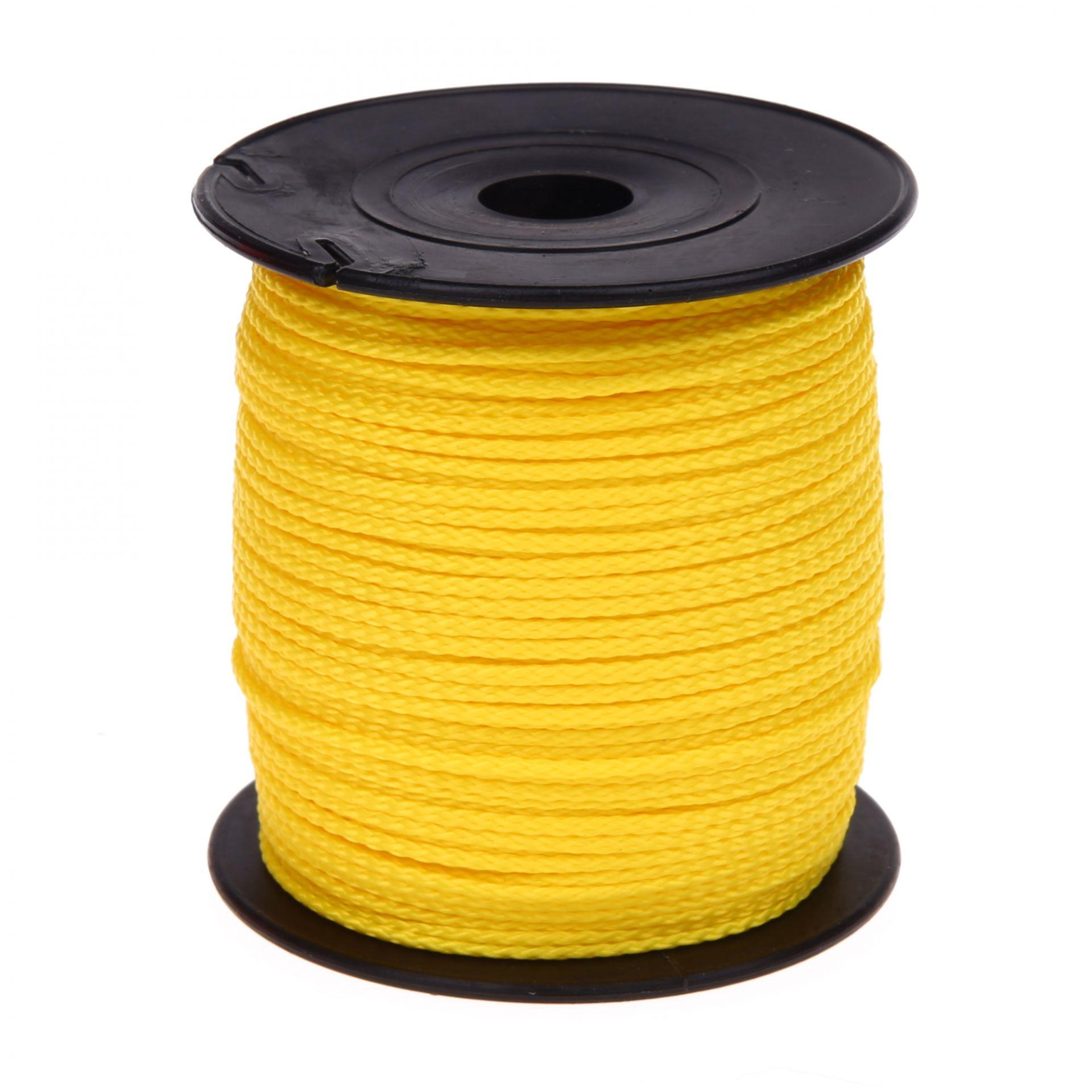 Polyester-Faden Ø 1,5mm • 1 Meter 'gelb' 172 auf Lager