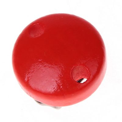 Schnullerclip mini / Holzclip Ø30mm 'rot' 421 auf Lager