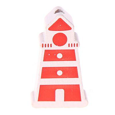Motivperle Leuchtturm 'rot' 212 auf Lager