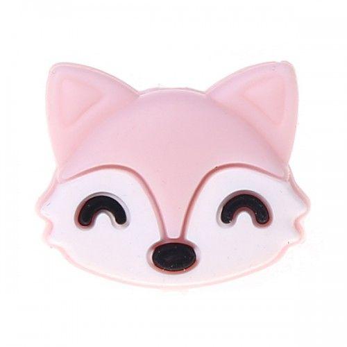 Silikonmotiv Fuchs 'rosa' 150 auf Lager