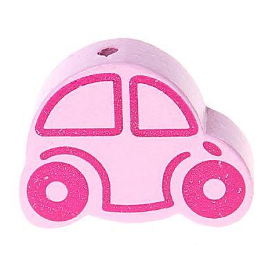 Motivperle Auto 'rosa' 333 auf Lager